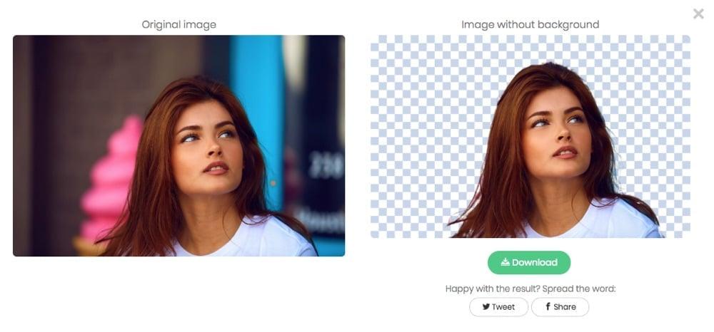 Modifica lo sfondo di una foto